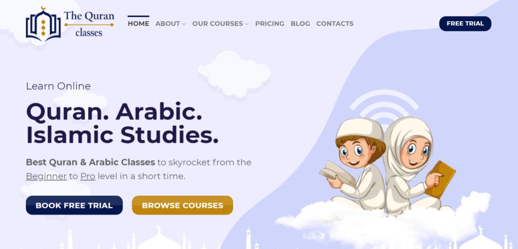 The Quran Classes Online: Best Online Quran & Arabic Classes